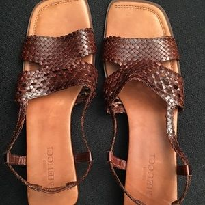 Sesto Meucci sandals made in italy Leather SZ 11